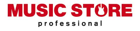 MUSIC STORE Logo Red/Black