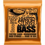 Ernie Ball Bass Strings, 45-105,HybridS Roundwound Long Scale