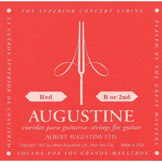 Augustine Einzelsaite,2h,rot