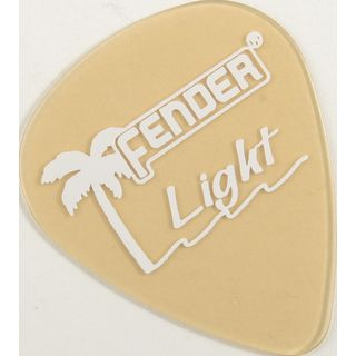 Fender Plektrum 351 California thin Gold 12er Set