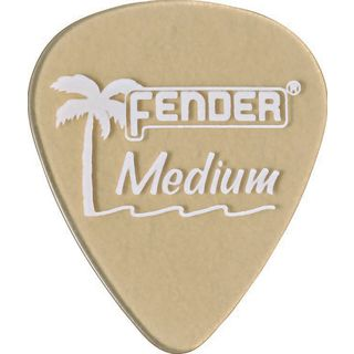 Fender Plektrum 351 California medium Gold 12er Set