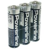 Panasonic Mignon 1,5V Alkaline Powerline LR6 3er-Pack foliert