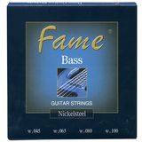 Fame Bass Saiten,4er,45-100 Nickel Plated Steel