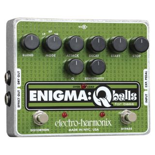 Electro Harmonix Enigma Q balls for Bass Guitar 96DC-200 PSU included