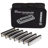 Hohner 7er Blues Harm. Starter Set 7 x Blues Band im Etui