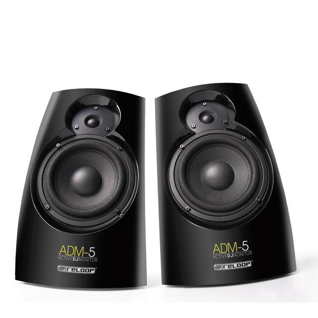 Reloop - ADM-5 (Paar) Aktive DJ-Monitore