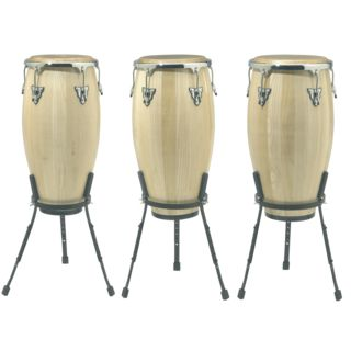 "_SET_ SONOR Champion Conga Set NHG Natural, 11""+11 3/4""+12 1/2"""