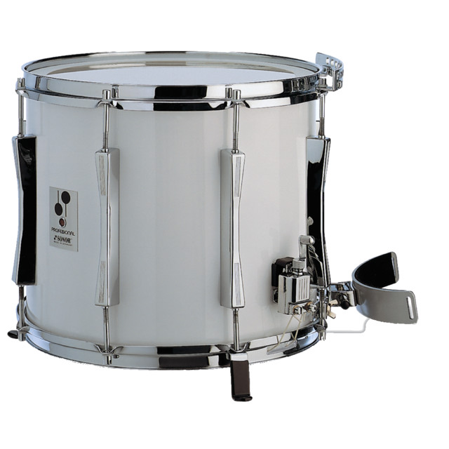 Sonor - Marching Snare MP1412CW, 14x12, Professional, white