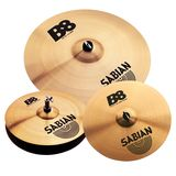 "Sabian B8 Performance Cymbal Set, 14""HH, 16""CR, 20""R, DVD"