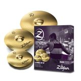 "Zildjian Planet Z ""4 Pack"", Cymbal Set 20""R,16""CR,14""HH"