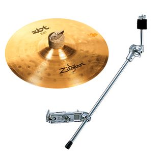 "Zildjian ZBT Splash 10"" DEAL Brilliant Finish, inkl. CH-70"