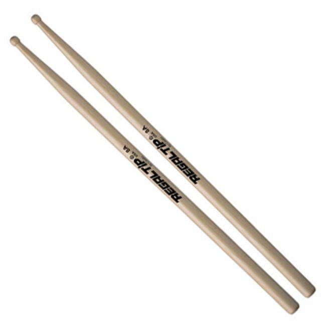 Regal Tip - Regal 8A Sticks, Hickory, Wood Tip