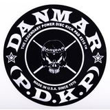 Danmar Drum Zubehör BassDrum Kickpad 210SK, Single Pedal, Skull