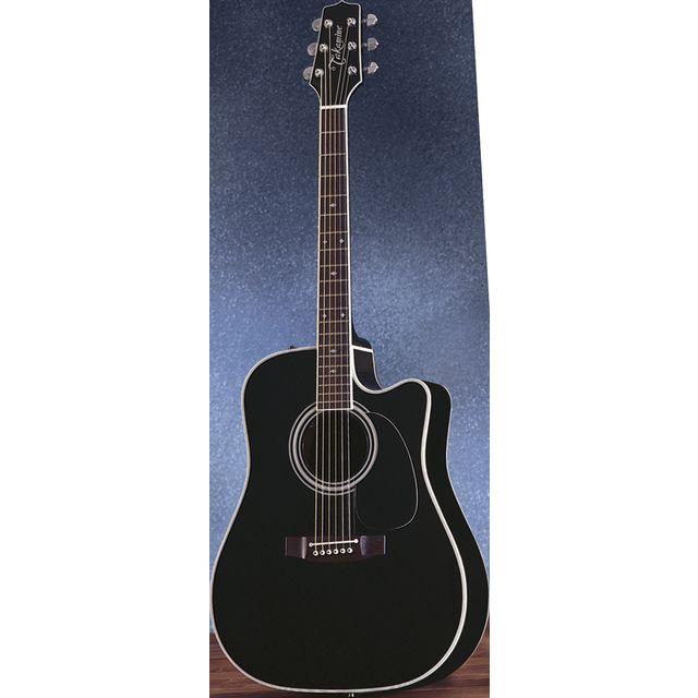 Takamine - EF341SC-BK Black