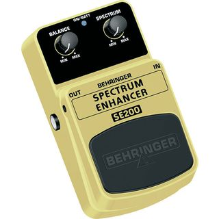 Behringer SE 200 Pedal Spectrum Enhancer