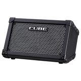 Roland Cube Street Battery Powered Bu sker's Amplifier, Black