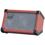 Roland Cube Street Battery Powered Bu sker's Amplifier, Red