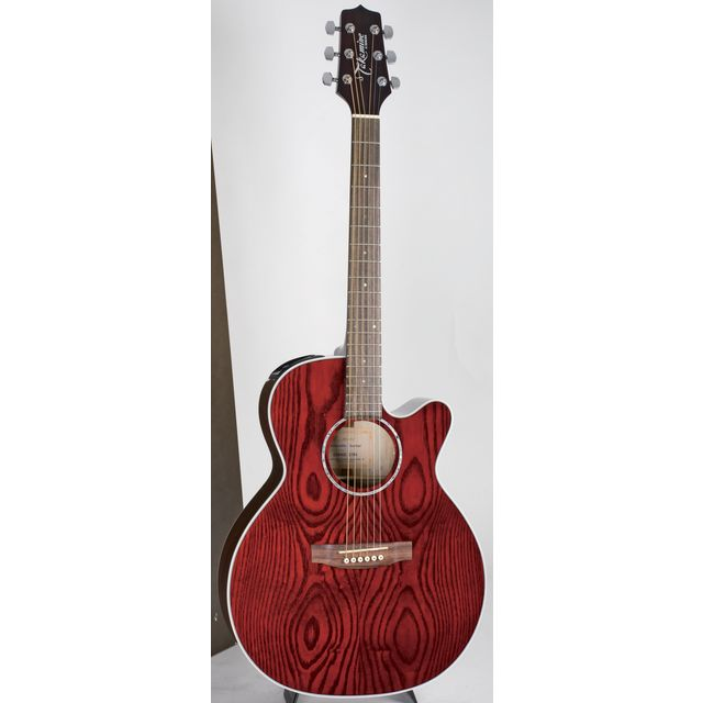Takamine - EG440C-STRQ Red Stain High Gloss