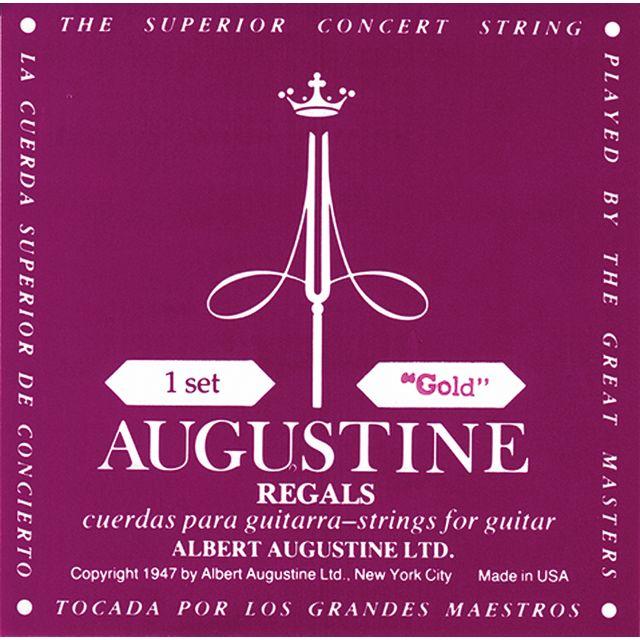 Augustine - K-Git.Saiten,gold,Regal S Satz, Klassik Gold Regal Serie