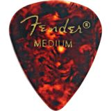 Fender 351Tortoise medium Plektren 12er Pack