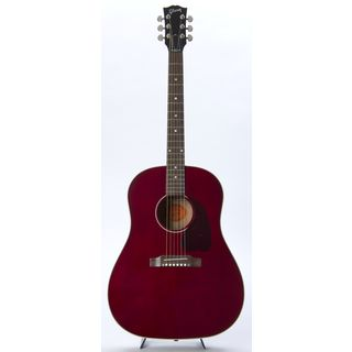 Gibson J-45 Standard WR Ltd. Wine Red, incl. Case