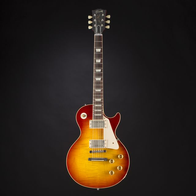 Gibson - Standard Historic 1958 Les Paul Standard VOS Worn Cherry #R8 60136