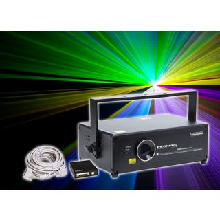 _SET_ LightmaXX PEGASUS 1.0 RGB SET inkl. MAMBA Elements, 25m ILDA