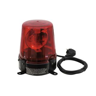 Eurolite Police Light 15 W RED inkl. Kabel & Stecker