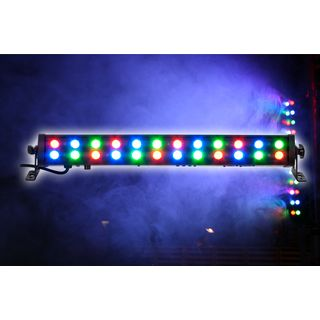 lightmaXX LED High Power Color Bar Short 24x1W RGB, DMX Wall Washer