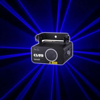 lightmaXX CLUB 400 BLUE 400mW Blau Laser, DMX