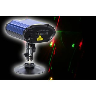 lightmaXX MINI GALAXY POLAR Grating Effekt Laser, RG