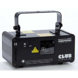 lightmaXX CLUB 2.0 GBC 140mW GBC Laser, DMX