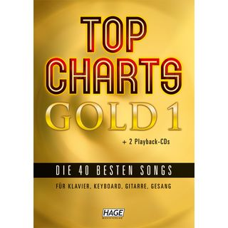 Edition Hage Top Charts Gold 1 40 Titel, 2 CDs