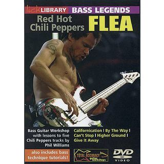 Roadrock International Lick library - Flea Bass Legends, DVD