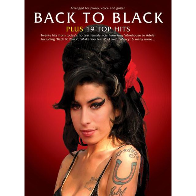 Music Sales - Back To Black + 19 Top Hits PVG