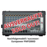 Behringer PMP 2000 EUROPOWER Table  amplifiée 800W