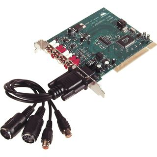 M-Audio Audiophile 2496 Hi-Quality 24- 96 PCI Audio/MIDI Interface