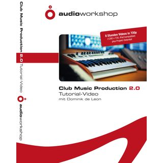 Audio Workshop Club Music Production 2 Tutorial Video DVD