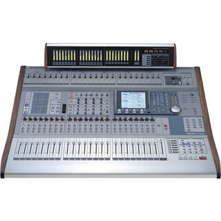 _SET_ Tascam DM-4800 incl.MU-1000 MB 1x Digitalmixer,1x Meterbridge