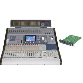 _SET_ Tascam DM-3200 inkl.MB/FW-Card Mixer, Meterbridge, FW-Card