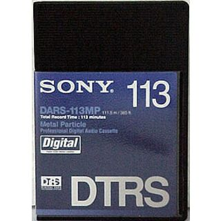 Sony DARS-113MP Digital Audio Tape 113 Min. Digitalband-Cassette