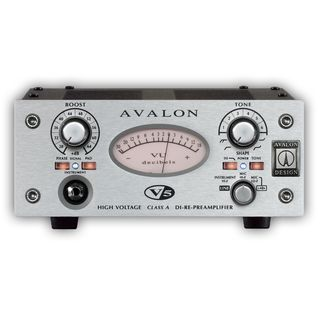 RETOURE Avalon Design V5 Silver 1-Kanal D.I.-Re-Mic Preamp
