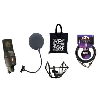 SE electronics X1 Projekt-Studio-Set inkl.Spinne, Pop-Filter, Kabel
