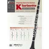 Alfred Music Grifftabelle Klarinette Deutsches System Product Image