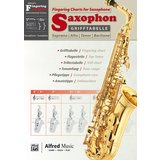 Alfred Music Grifftabelle Saxophon  Product Image
