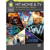 Alfred Music Hit Movie & TV Instrumental Solos - Clarinet Product Image