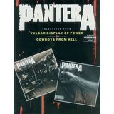 Alfred Music Pantera: Vulgar Display of Power/Cowboys From Hell Product Image