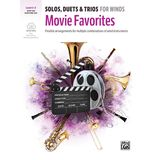 Alfred Music Solos, Duets & Trios for Winds: Movie Favorites Produktbild