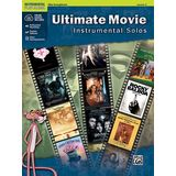 Alfred Music Ultimate Movie - Alto-Sax Instrumental Solos, Book/CD Product Image