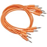 Black Market Modular Patch Cables 250mm Orange (5-Pack) Product Image